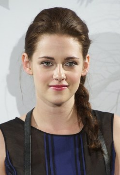 Kristen Stewart Side Braided Boho Hairstyle