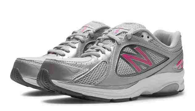 Pink New Balance Motion-Control Walking shoes