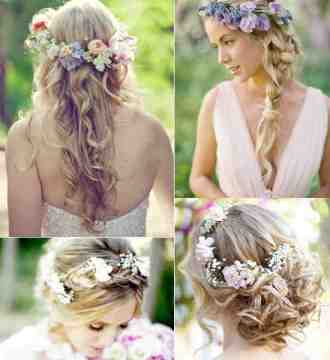boho wedding hairstyles ideas