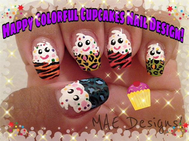 18 amazing nail designs ideas for birthday fmag crazy cupcakes prinsesfo Images