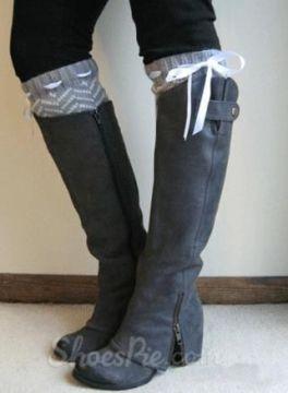 gray coppy leather