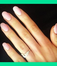 pale pink oval