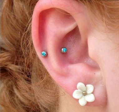 Faux snug piercing