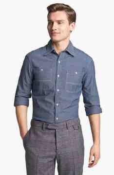 Chambray Casual Attire for Men