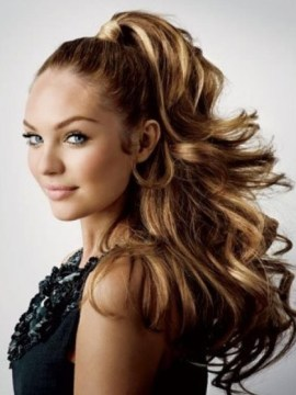 Fancy High Ponytail Hairstyle