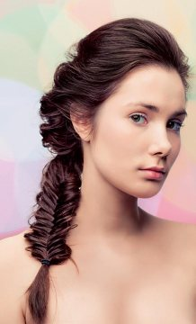 Loose Fishtail Pony for Medium-Length Hair