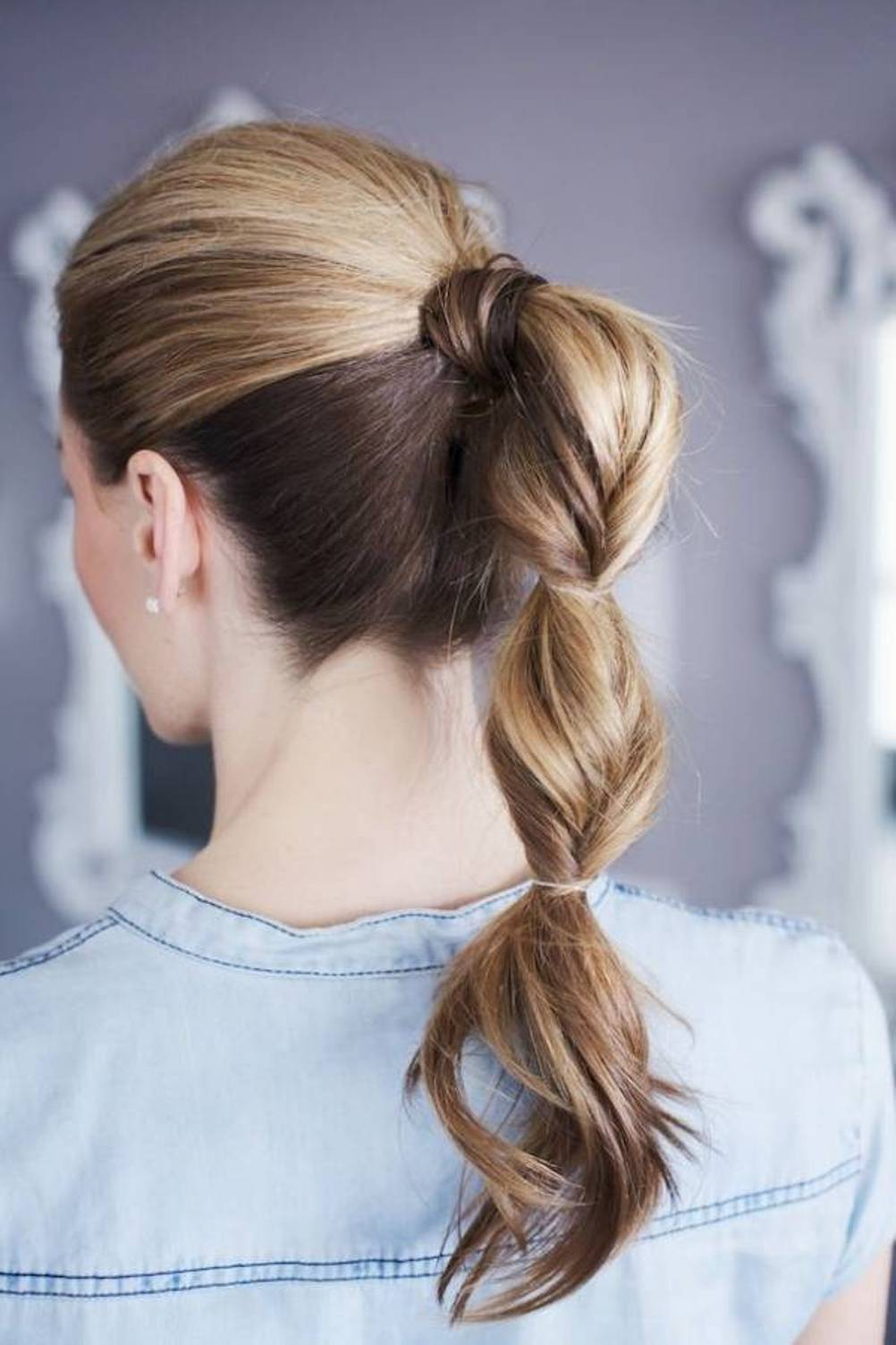 different ponytail styles for hair ponytail topsy hairstyle fmag 9071