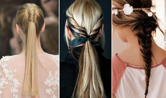 Ponytails Hairstyles for Long Hair
