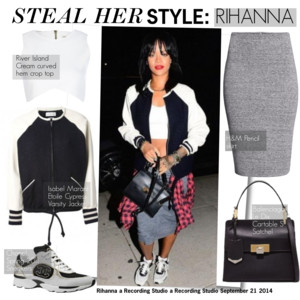 Rihanna Polyvore outfit