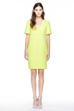 Bright neon summer dress