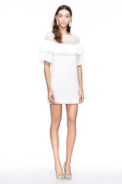 White resort wear dress