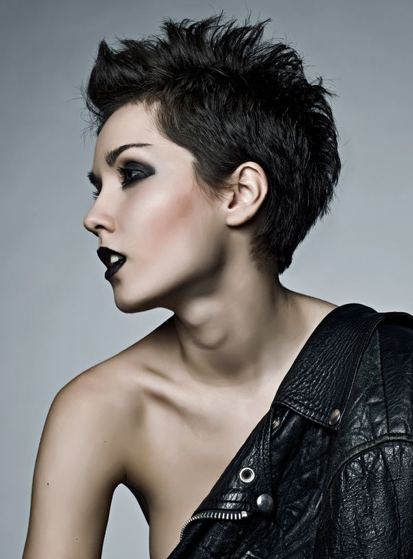 Best short spiky hairstyles styling guide fmag dramatic makeup urmus Image collections