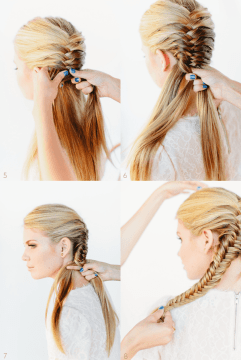 Braided DIY Hairstyle