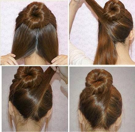 Beautiful diy hairstyles style your hair quickly fmag chignon diy hairstyle solutioingenieria Images