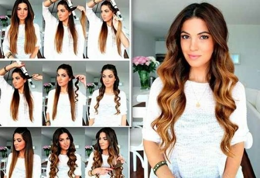 DIY Curly Hairstyle