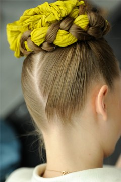 High Fabric Woven Bun