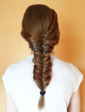 Low Fishtail Braid