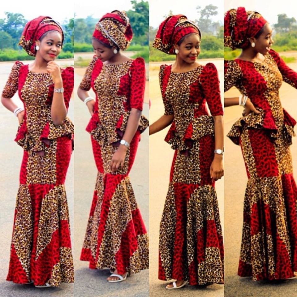35 stunning nigerian wedding dresses fmag international nigerian ankara for weddings ombrellifo Choice Image