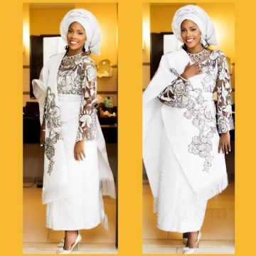 Traditional Wedding Aso Oke