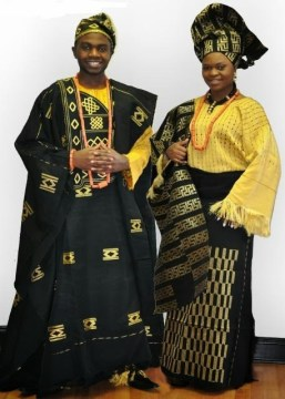 Wedding Aso Oke Couple