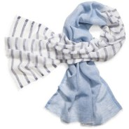 Tory Burch Double Stripe Scarf