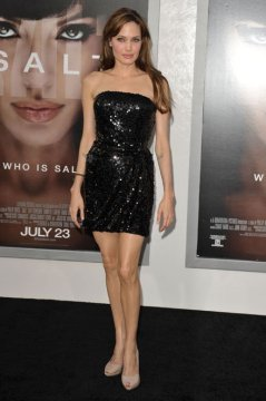 Angelina Jolie body shape