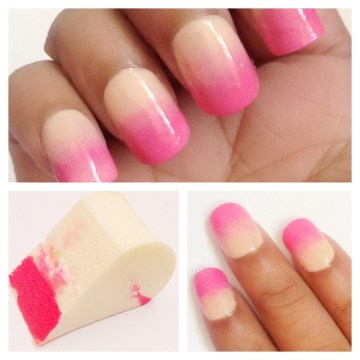 Bridal Pink Ombre