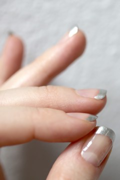 DIY Metallic Nail