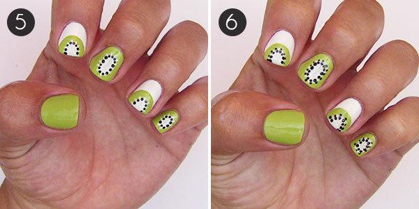 Kiwi short nails.