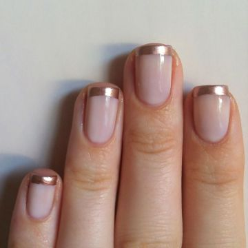 Metallic Nail Polish Ideal for Weddings
