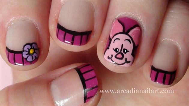 Piglet short nails.