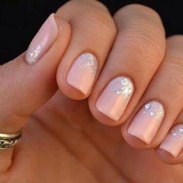 Subtle Glitter Nail Polish