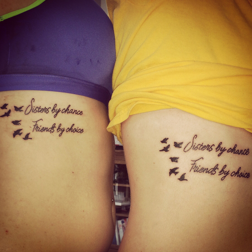 50 Meaningful and Lovely Sister Tattoo Design Ideas - FMag.com