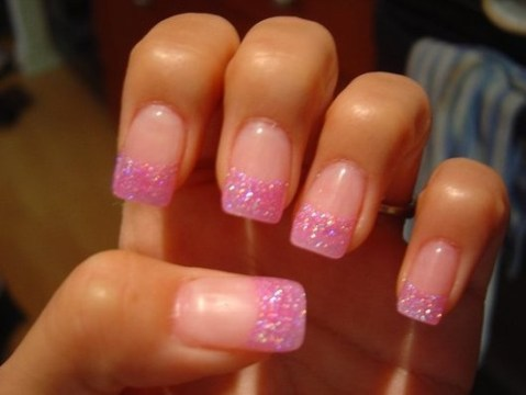 Light Pink French Tips