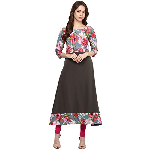 anarkali dress colorful