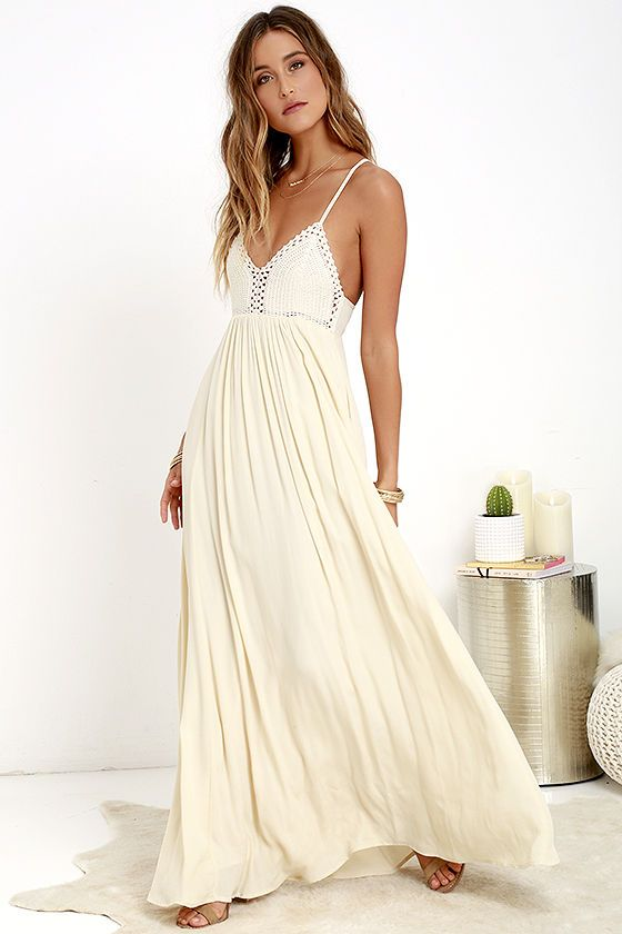 white boho festival maxi dress