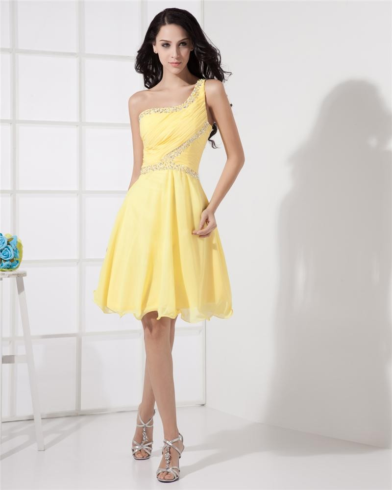 Cocktail Party Dress Ideas Part - 39: 11 Stunning Yellow Cocktail Dress Ideas You Should Try