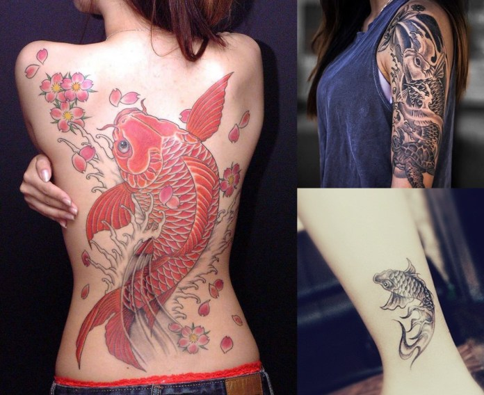 best koi tattoo designs