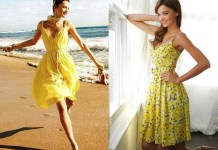 best yellow sundress outfit ideas