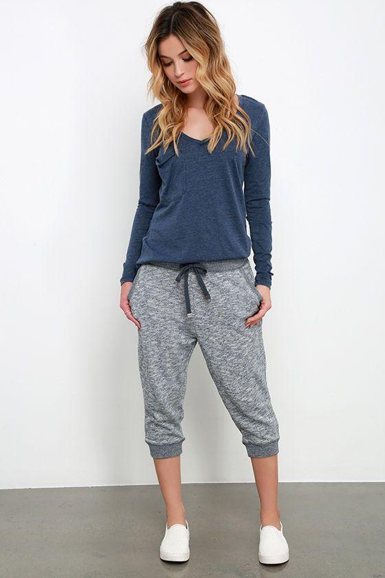capri jogger pants