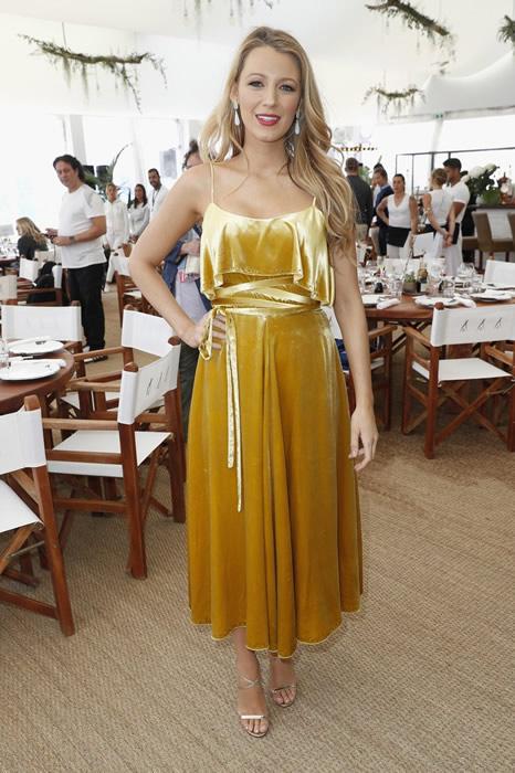 golden yellow sundress