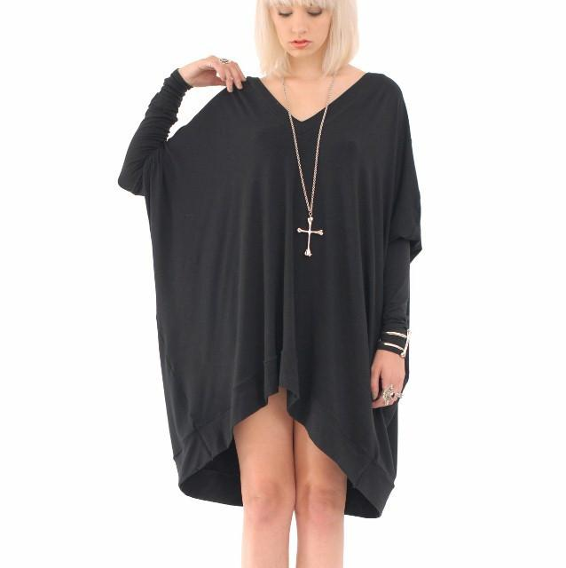 long sleeve oversized t shirt dress outfit