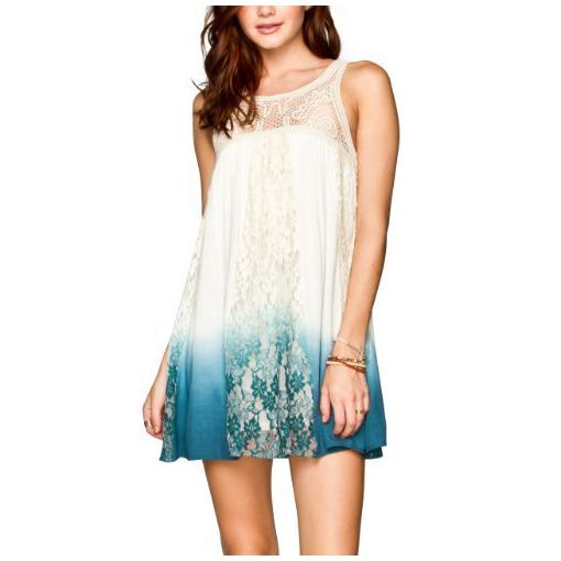 tie dye lace dress outfit