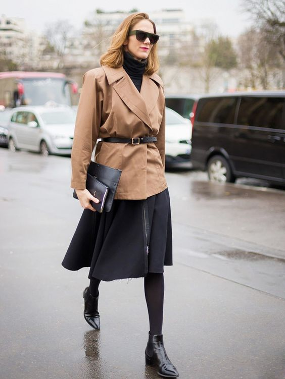 belted blazer chelsea boots