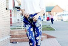 best printed pants outfit ideas