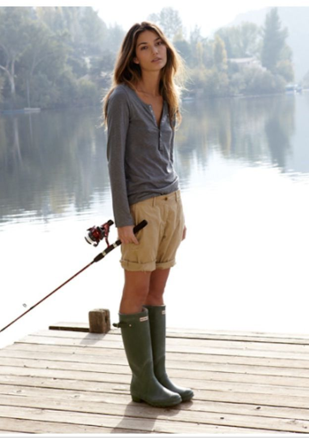 grey rain boots matching tops