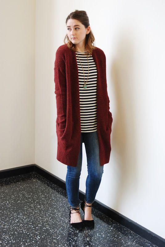 15 Best Ways To Wear Long Cardigan Sweater Fmag Com