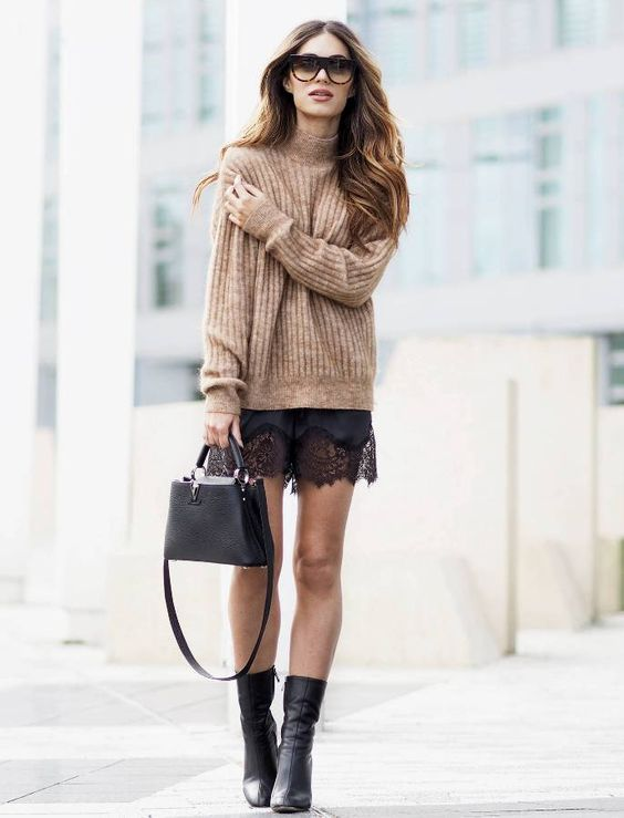 mid calf boots lace dress