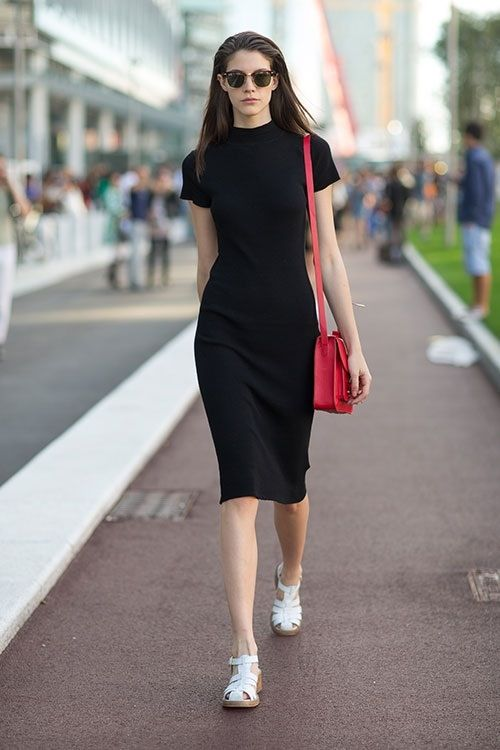 How to Wear Black Bodycon Dress 10 Best Outfit Ideas - FMag.com