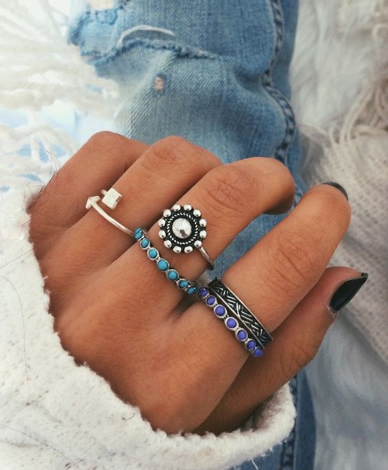 two rings boho